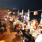 Mediterranean wedding reception in Lebanon
