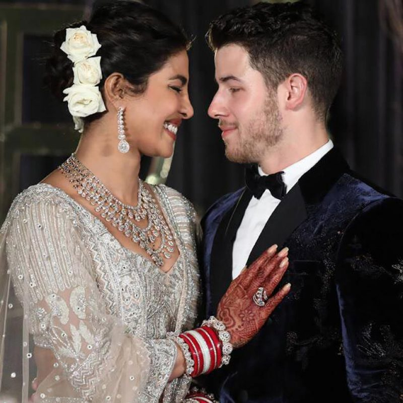 Pryanka Chopra Wedding Style
